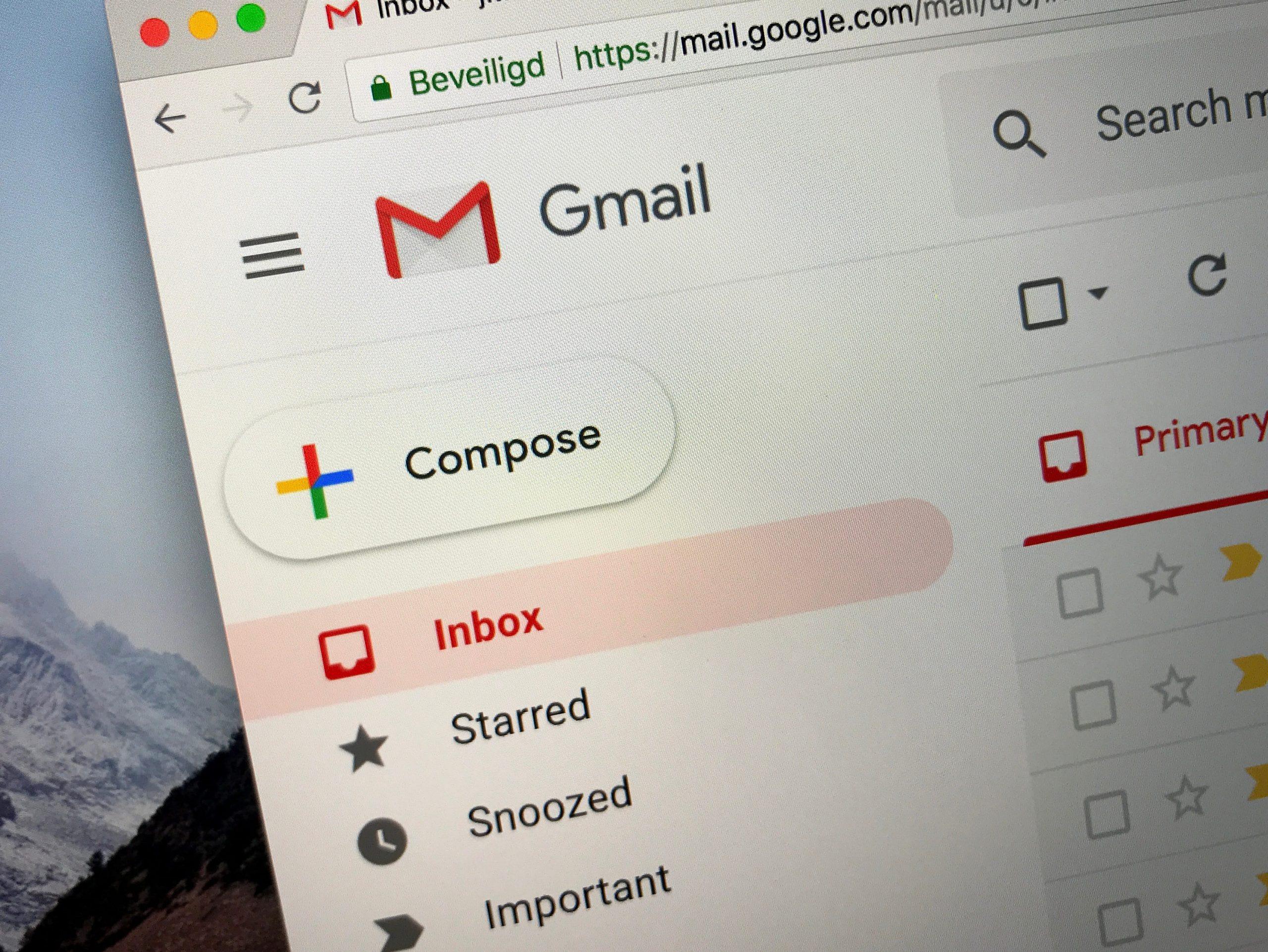 Verificación de cuentas de marca para frenar el Gmail Phishing